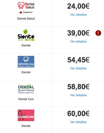 seguro dental en Málaga